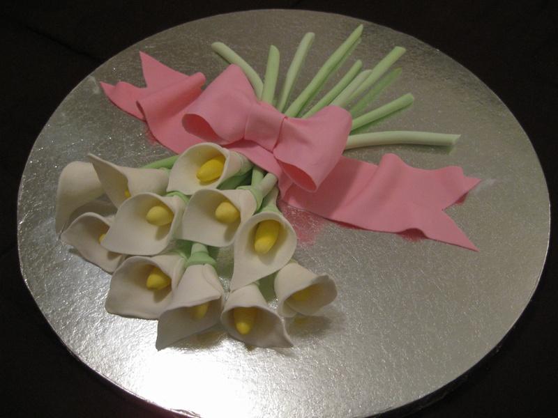 Gum Paste Flower Entry