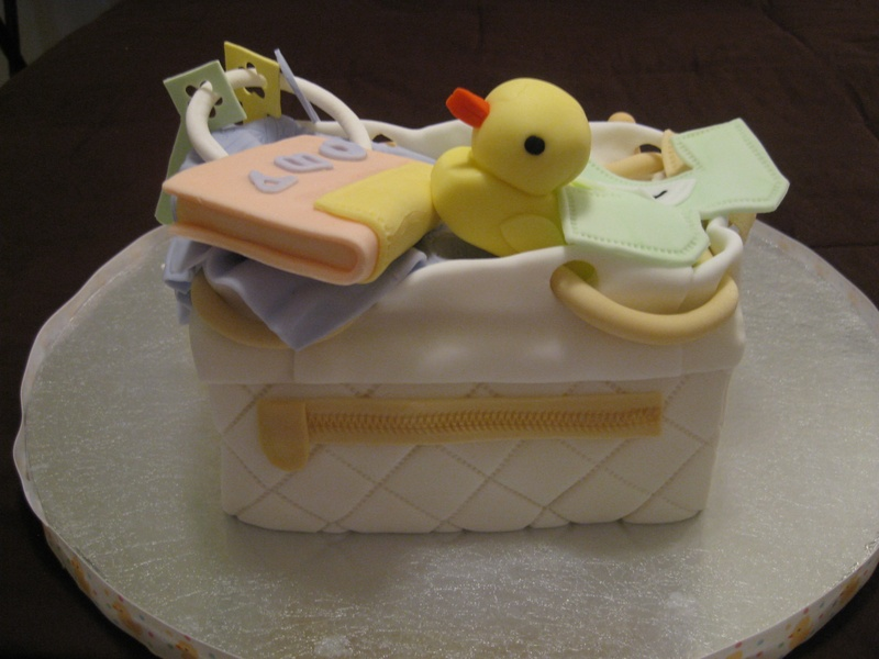 Baby Bag 3 - Back View