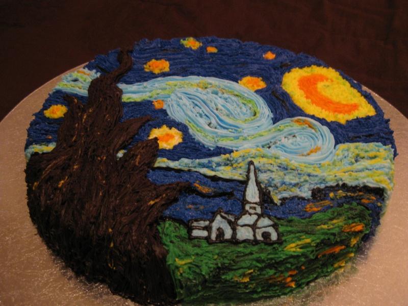 VanGough's Starry Night 2