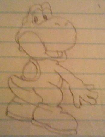 yoshi drawing 1