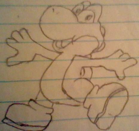 yoshi drawing 2