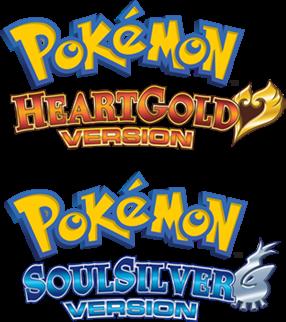 pokemon heartgold & soulsilver english logo