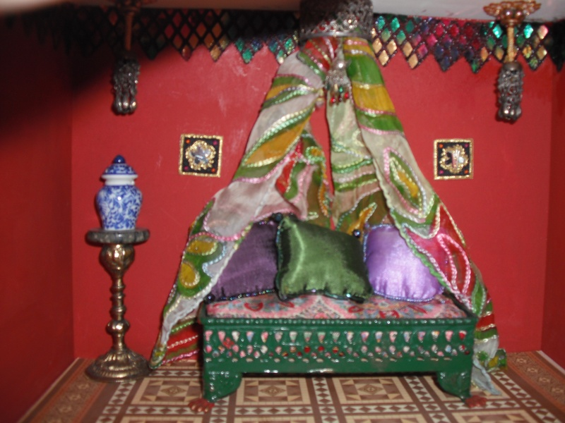 Bed in Indian House