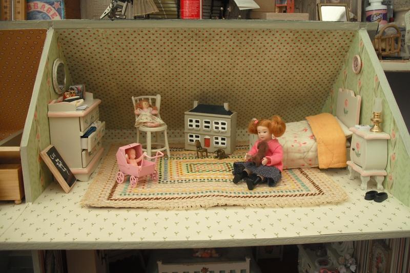 Higgs House attic bedroom.