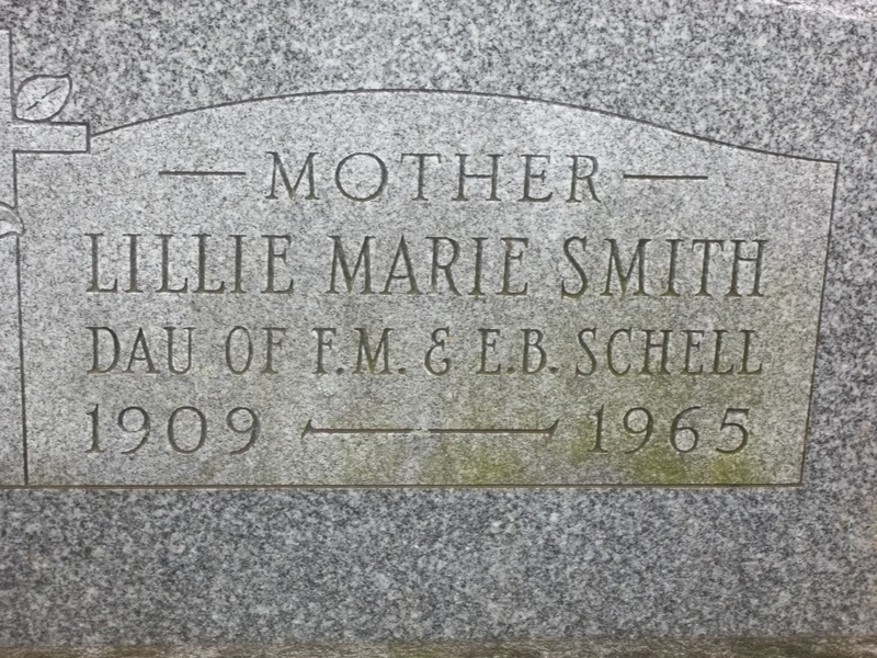 Lillie Marie (Schell) Smith (1909-1965)