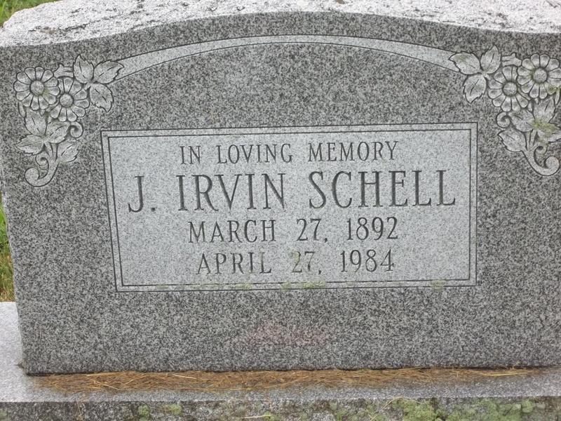 Jesse Irvin Schell (1892-1984)