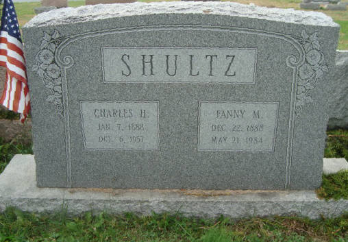 Charles H. and Fanny M. Shultz