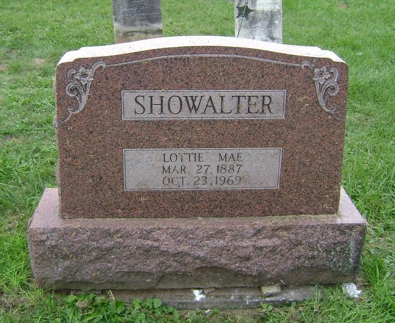 Lottie Mae (Schell) Showalter (1887-1969)