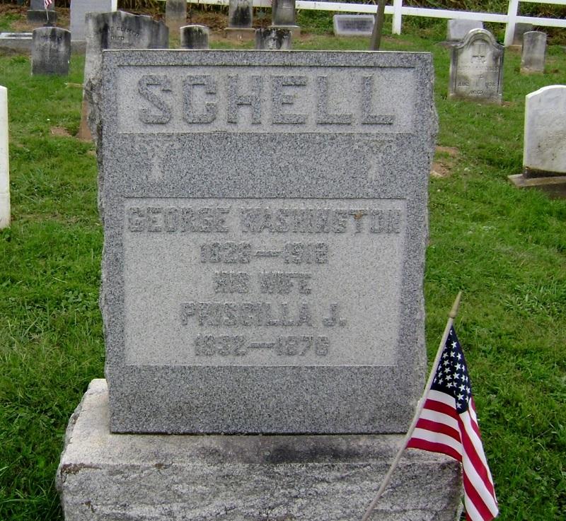 George Washington & Priscilla J. Schell