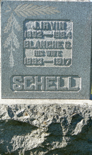 J. Irvin & Blanche G. Schell