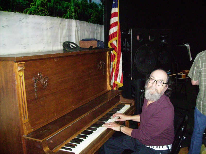 Danny and the new Piano 10-16-11