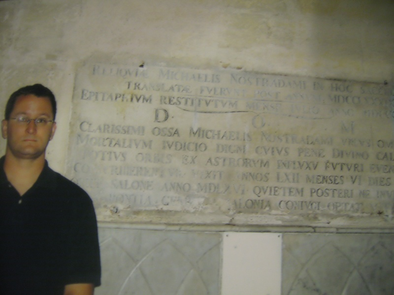 Nostradamus' Tomb