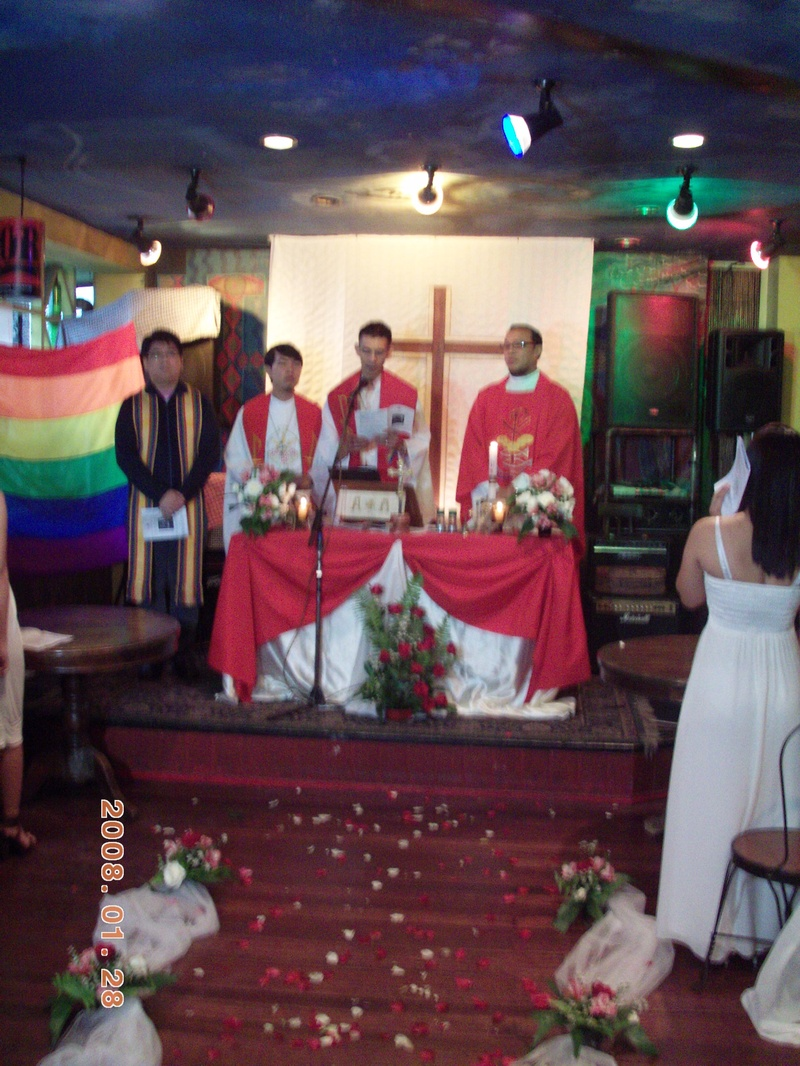 mass wedding of LGBT couples 2011
