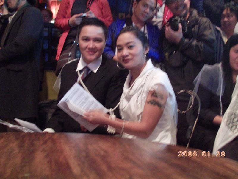 bhaya and shielo @ LGBT mass wedding