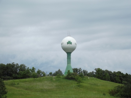 Kilarney - Green Bubble Water Tower