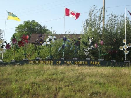 Flin Flon SK, MB - Neighbor in the Par