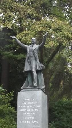 Vancouver - Lord Fredrick Arthur Stanley Statue