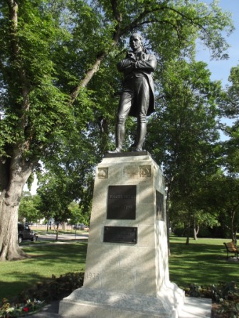Winnipeg - Robert Burns Statue