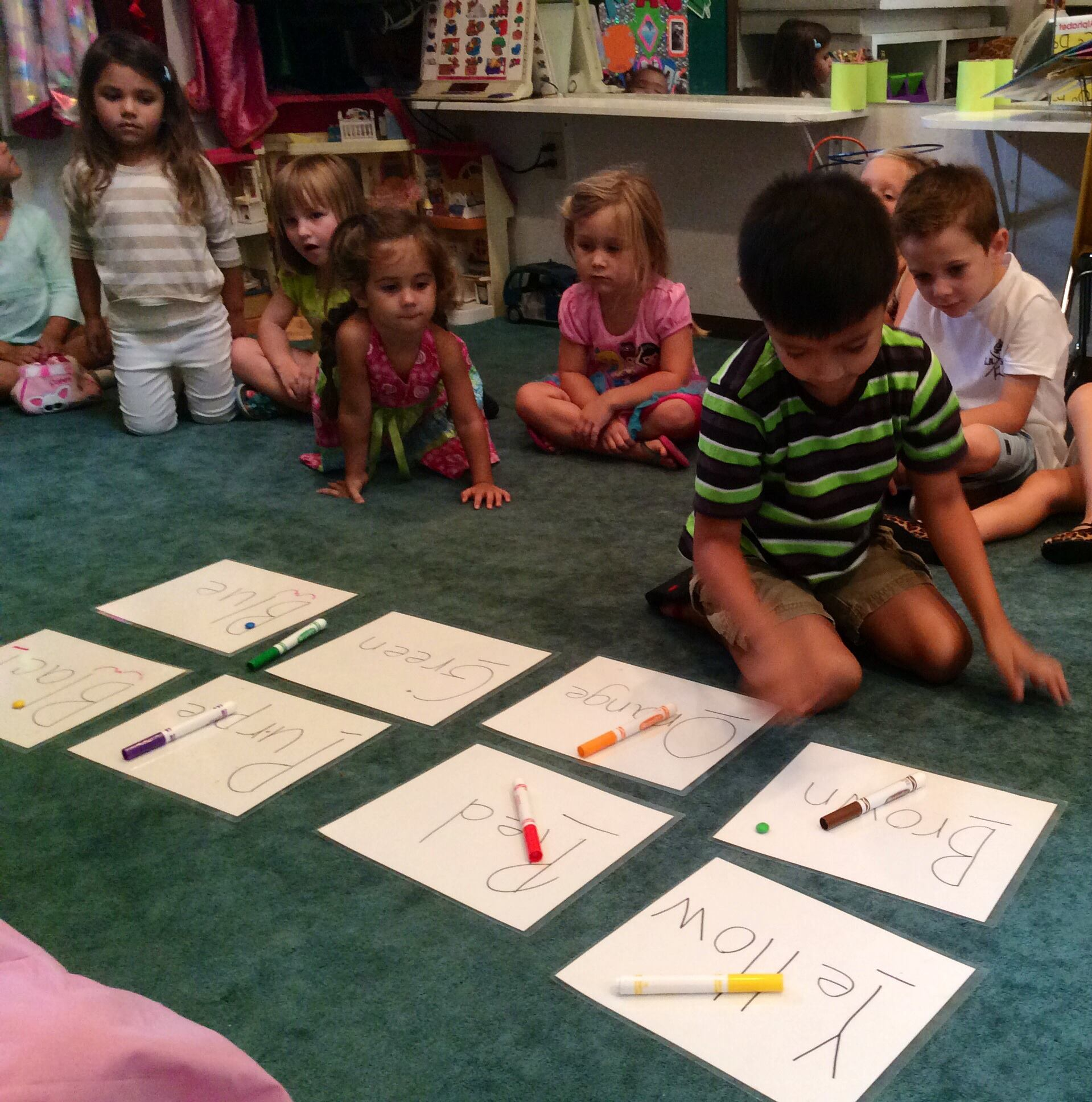 Learning Our Colors!