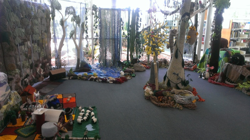 The display at the Port Macquarie Library