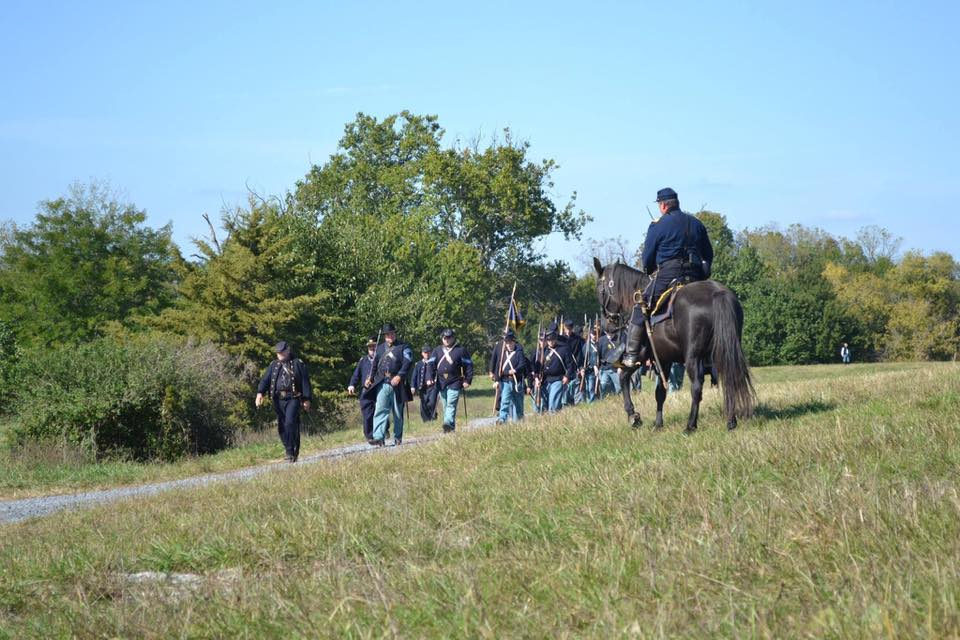 Marching Towards Battle