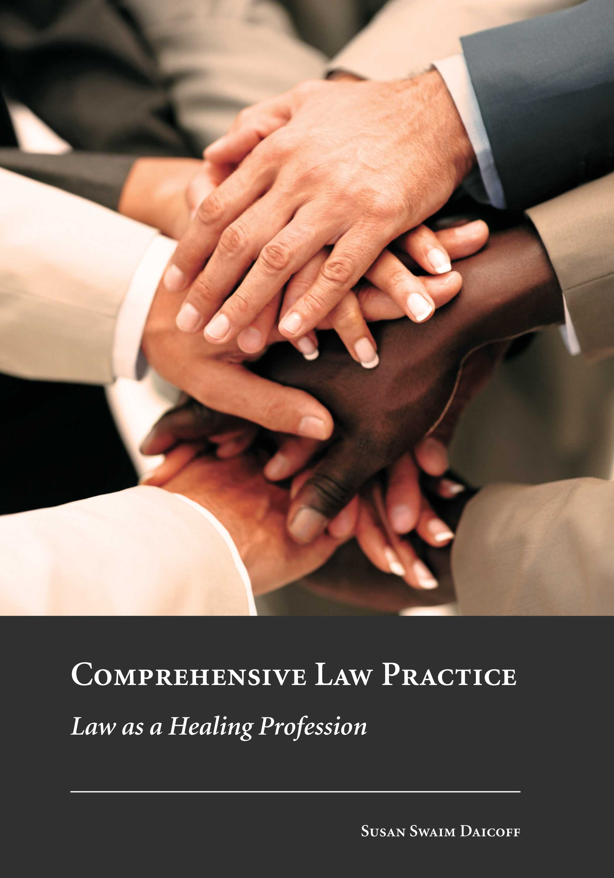 Cover of new textbook on the comprehensive law movement