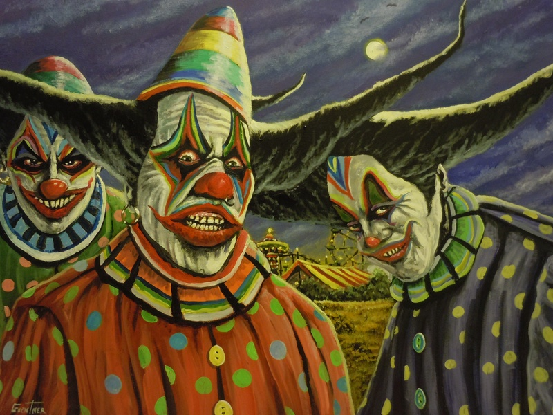 Voo Doo Clowns No.2