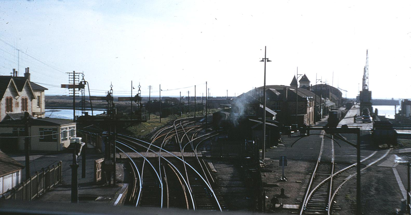 Newhaven Town Station 1961