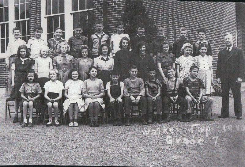 Walker Township School-1945-grade 7