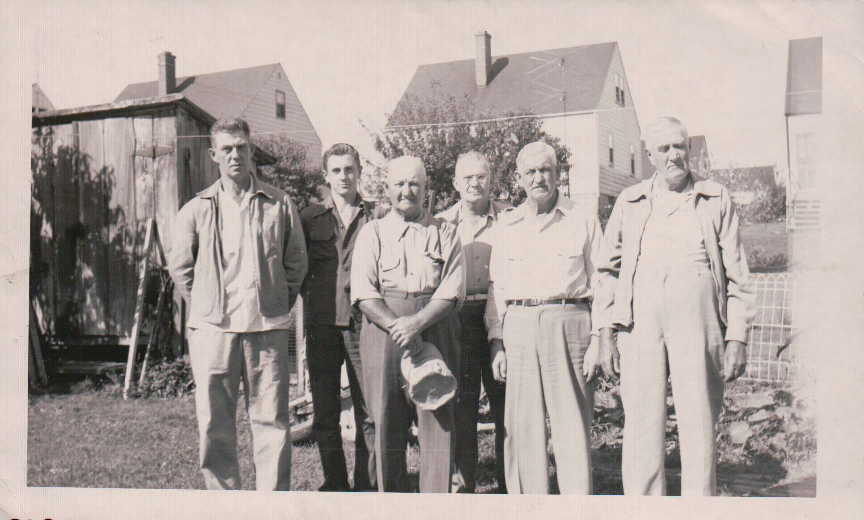 The guys' together in Pittsburgh for baseball!--August 24, 1952-Natrona Heights, Pa