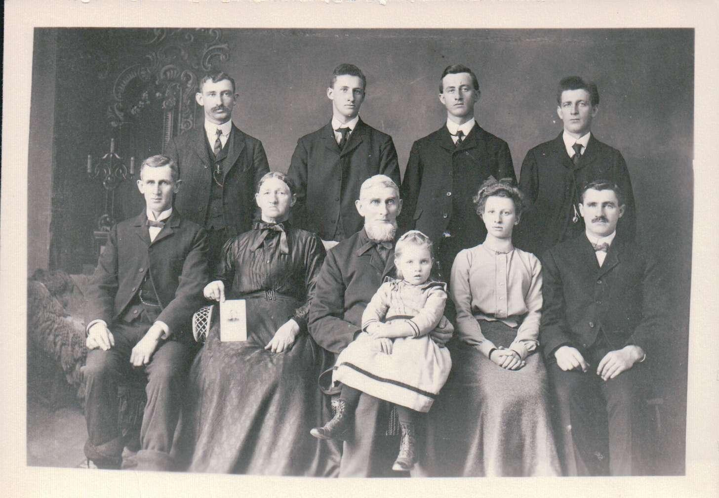 Samuel/Ruhama (Anderson) Norris Family