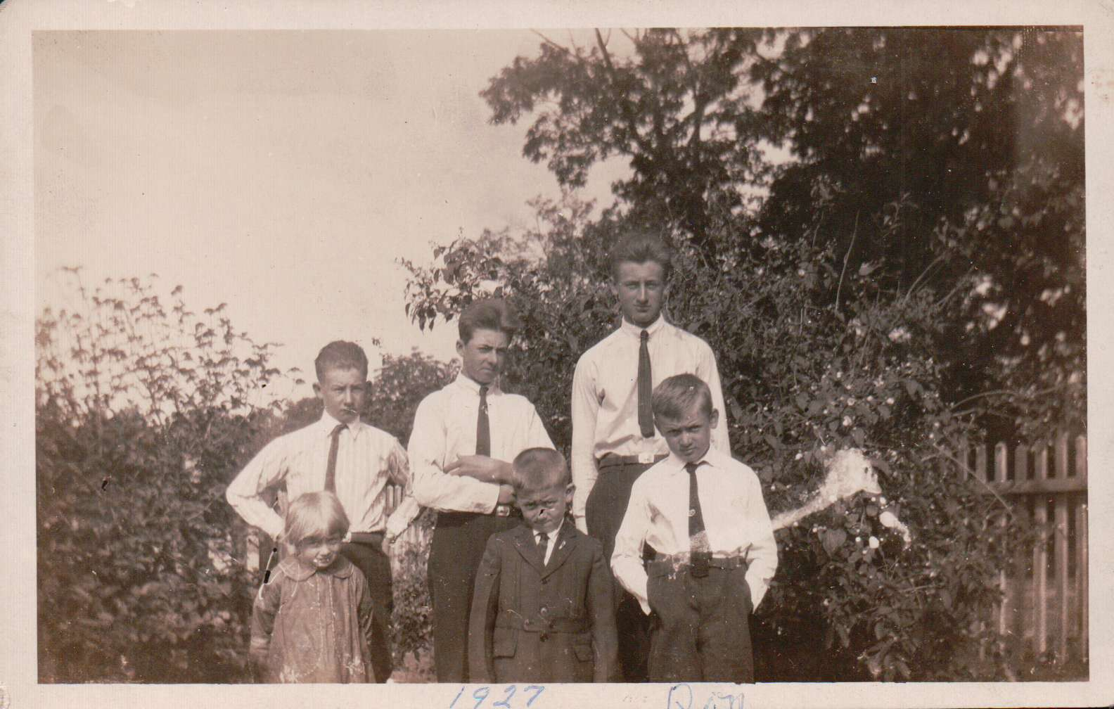 Emanuel/Catharine (Widner) Norris family-1927