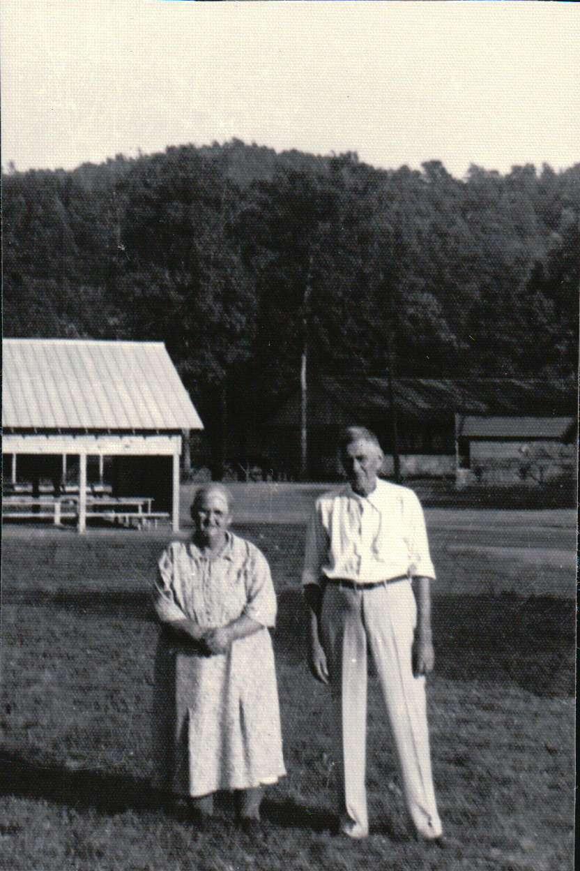 "Burton I. McCall and Rebecca ""Bessie"" (Grove) McCall"