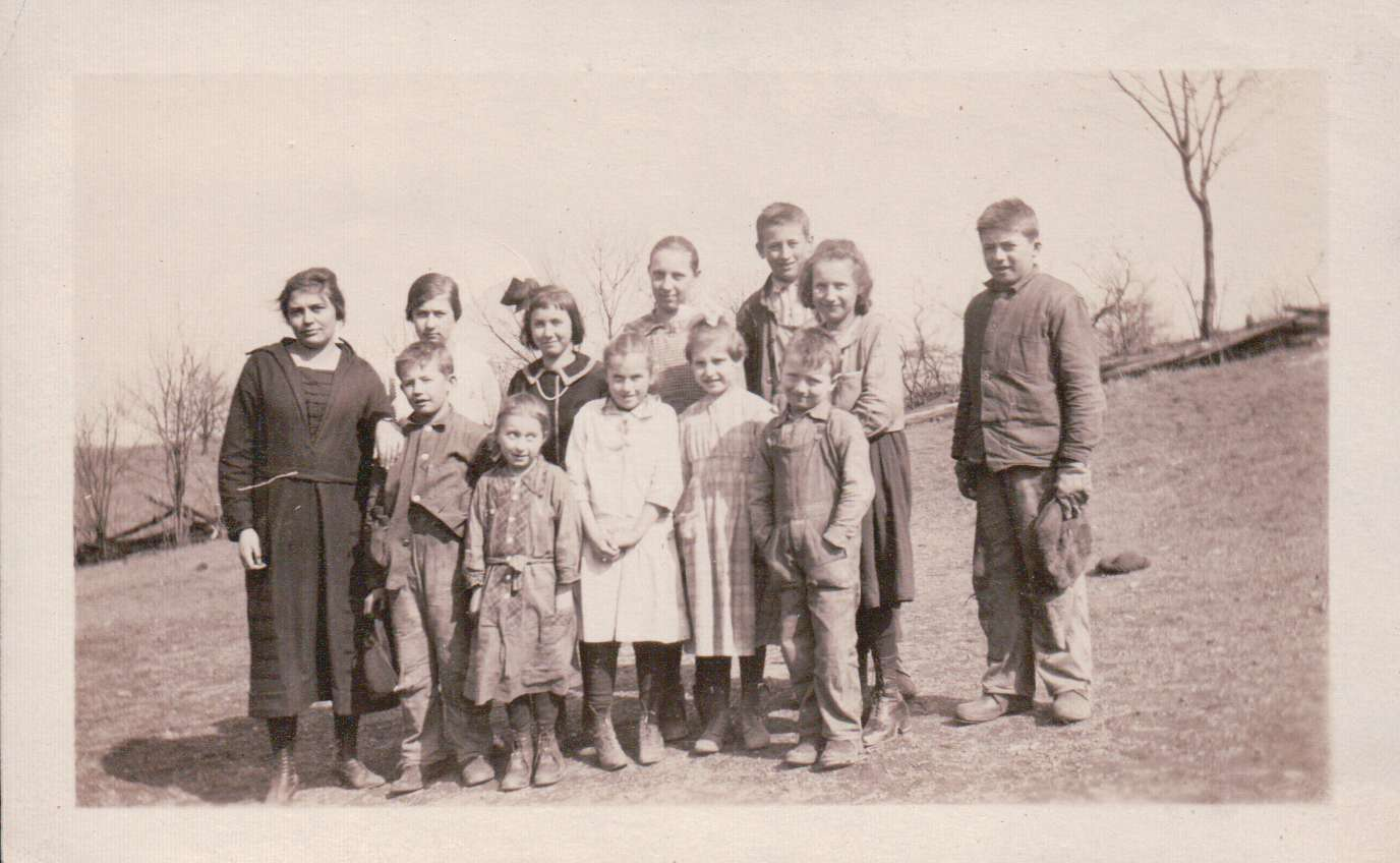 1922 Speck's School/with Ruth Briggs, teacher