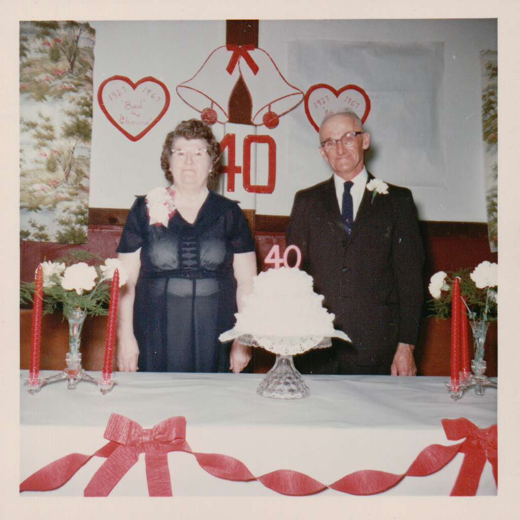 Ruth (McCall) Brumbaugh and husband, Stever