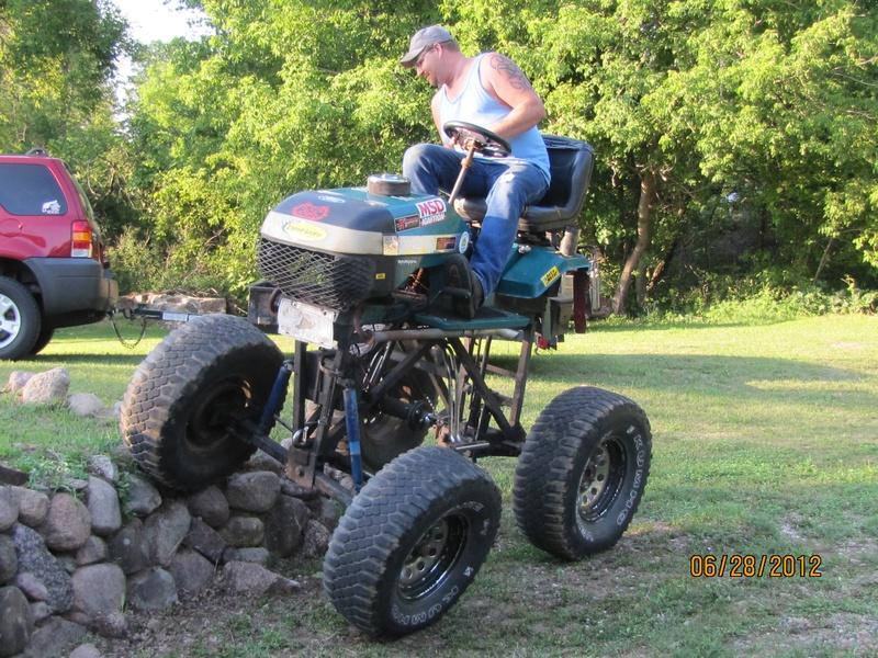 Big Tires On Garden Tractor : Polaris unveils new rzr