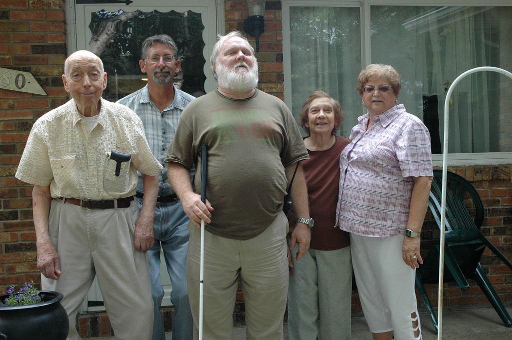 John Krauer, Eva & Pete,Rose,John Jacques