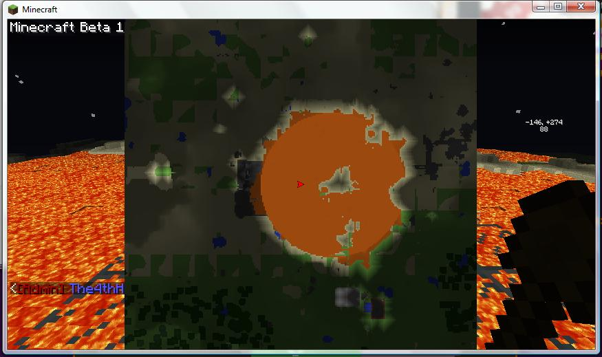 Map when lava fail happened