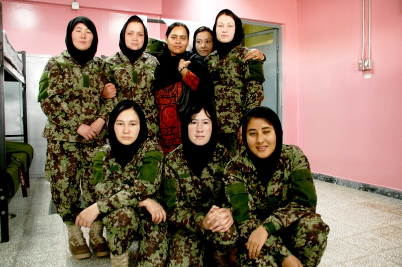 Me among the brave female armies