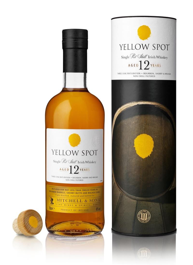Yellow Spot Pot Stil