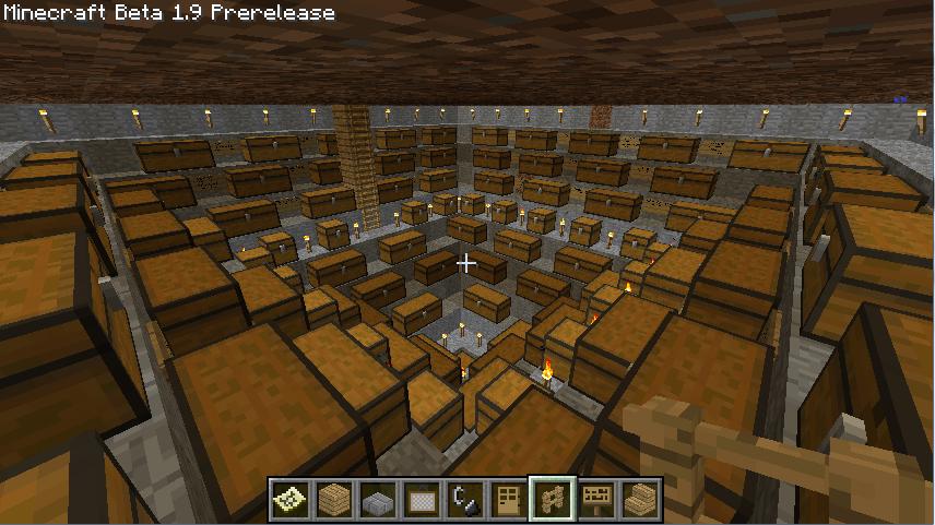 Storage Rooms Survival Mode Minecraft Java Edition Minecraft