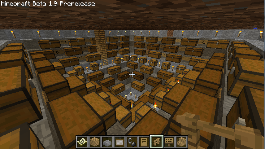 Minecraft Crafting Unit