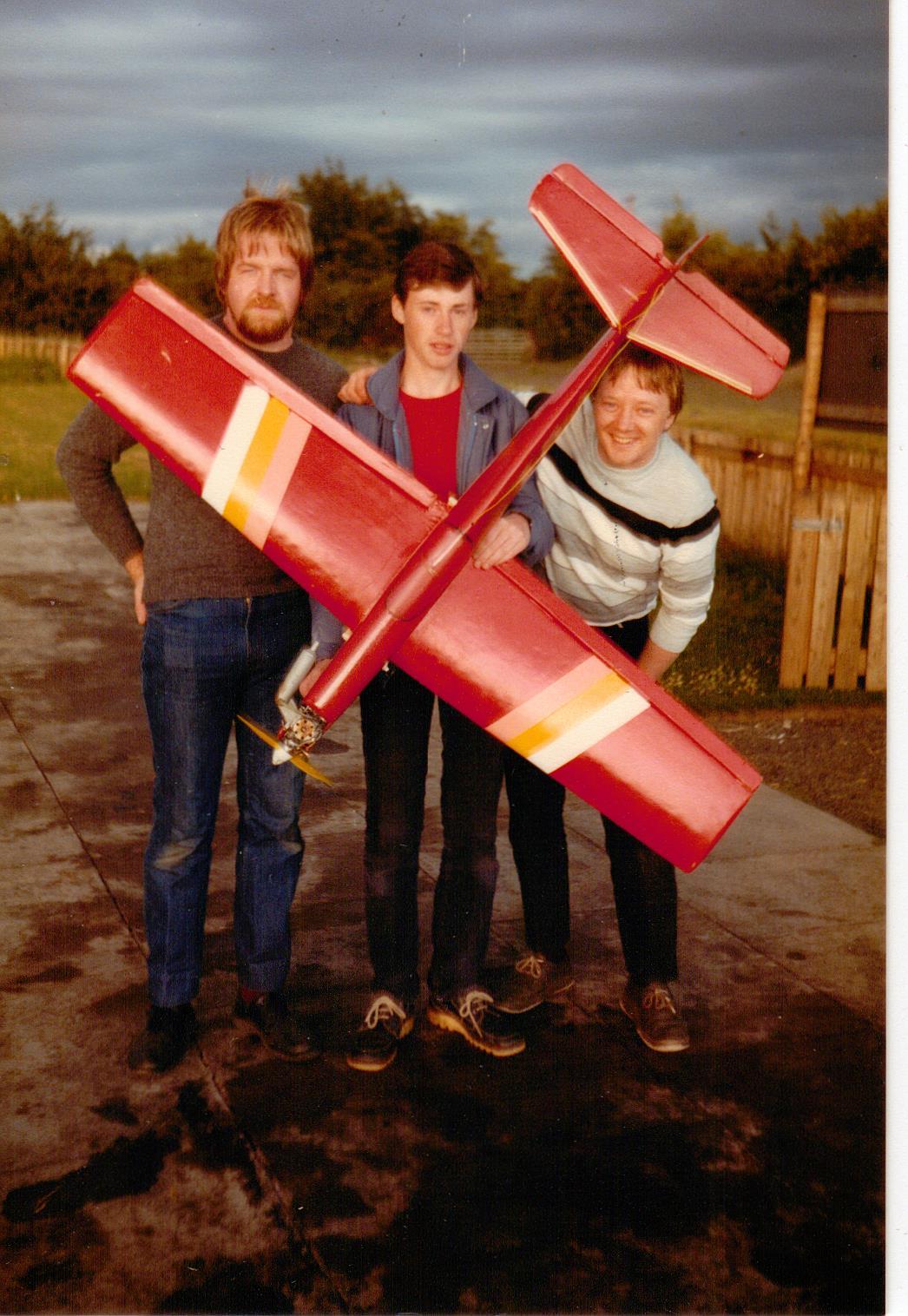 Wullie Baxter, Alastair Nicol & Harry Crockard with Gangster 63