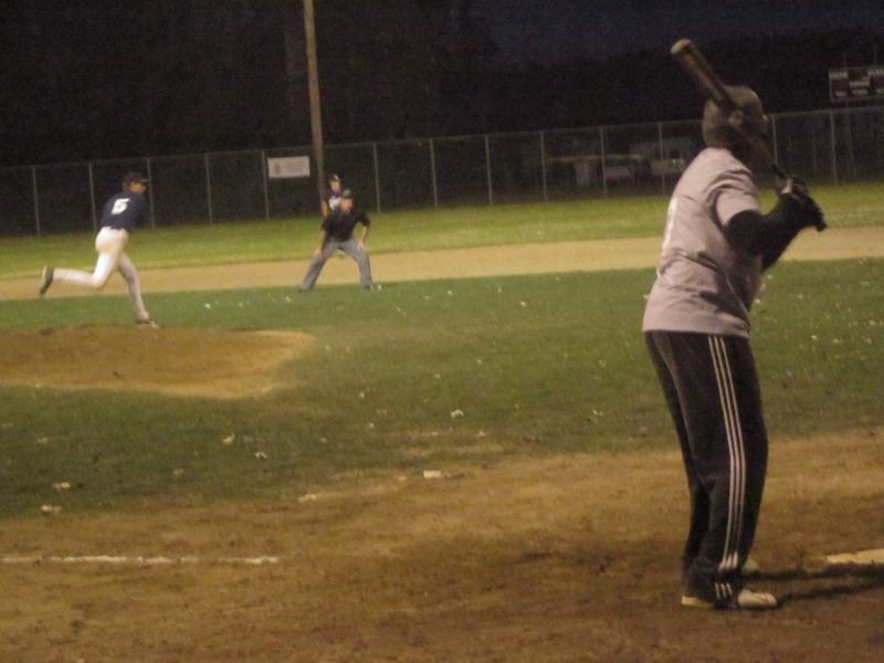 Terrence at the plate