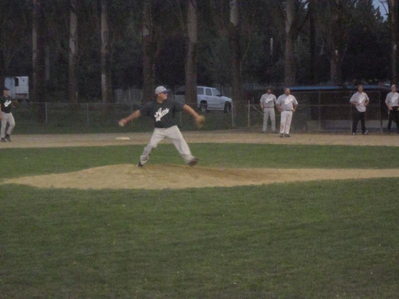 Kyle on the mound