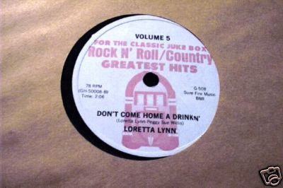 Don't Come Home  A Drinking 78rpm