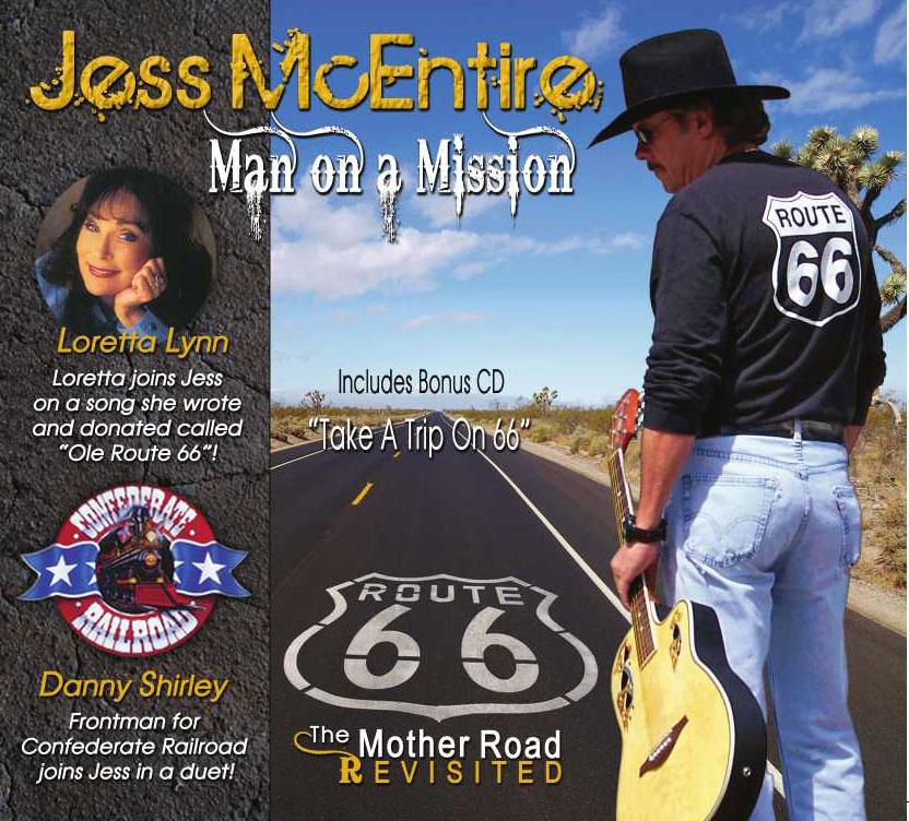 Rt 66 single  w/ Jess McEntire 2009