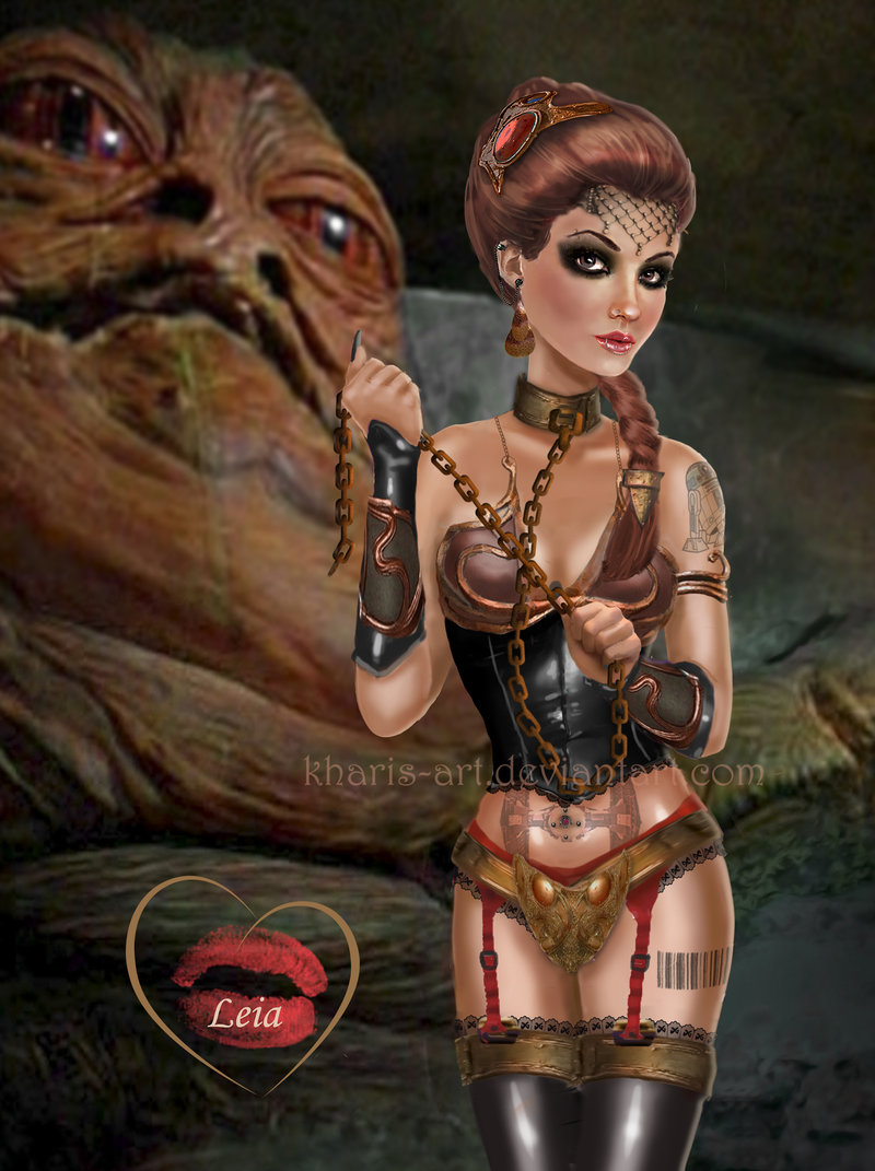 Dark side Slave Leia