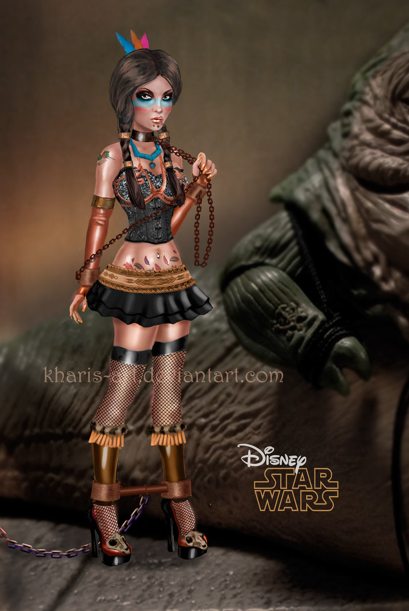 Pocahontas Jabba's slave