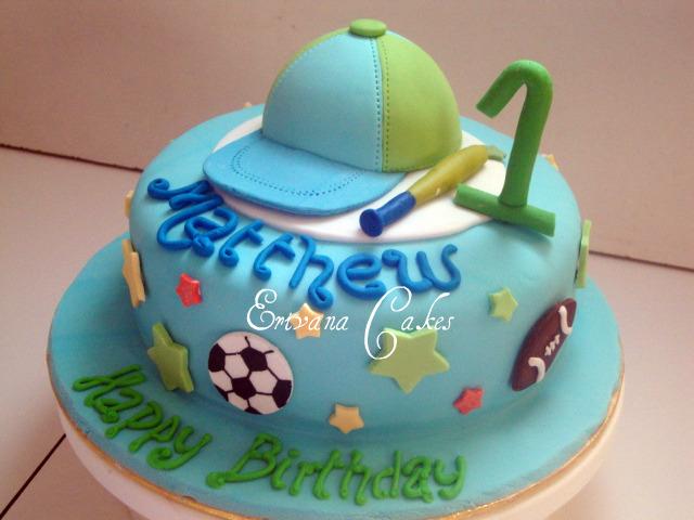 Photo Gallery Erivana Cakes - All star birthday cake
